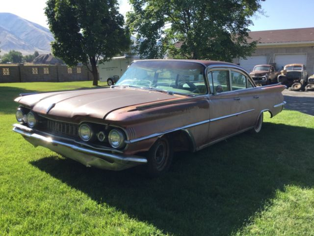 1959 Oldsmobile 98 4dr - Project Car for sale: photos, technical ...