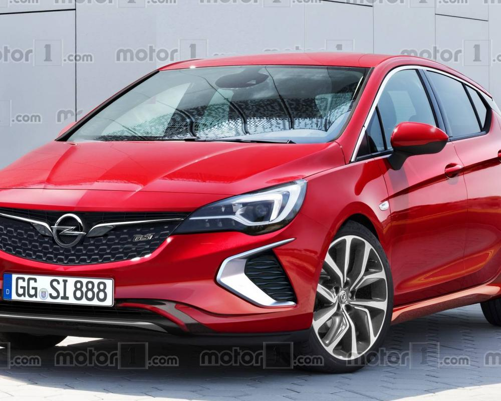 2018 Opel Astra GSi Will Probably Look Like This