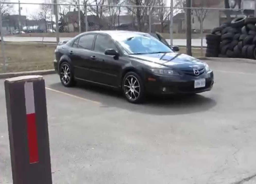 HILLYARD RIM LIONE 2008 MAZDA 6 RIDING ON 18 INCH MACHINED RIMS ...