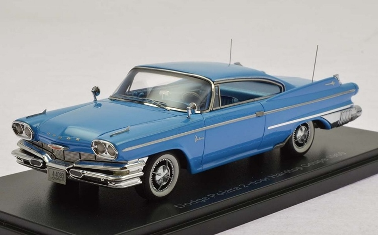 1960 Dodge Polara Coupe in Blue in 1:43 Scale by Neo Resin Model ...