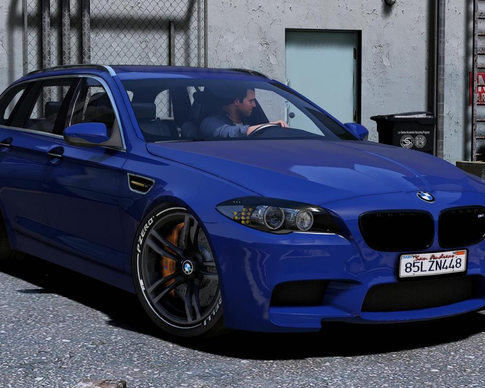 BMW M5 Touring 1.0 for GTA 5