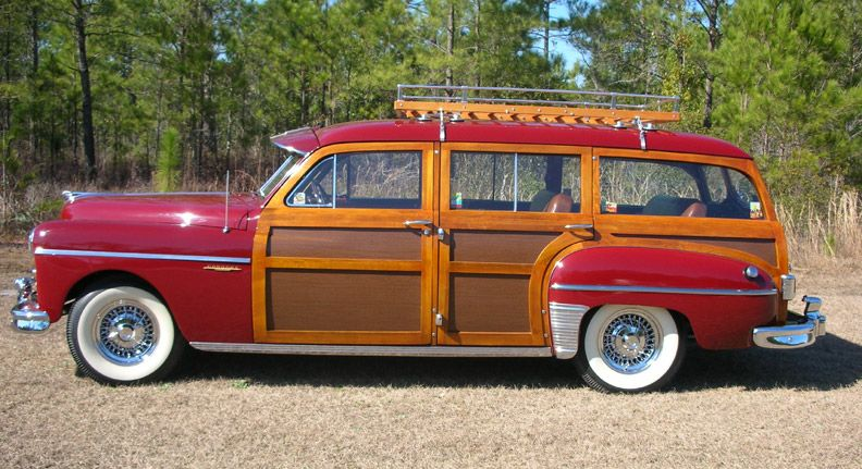 1949 Dodge Woodie. Or just about any woodie. But this is a ...