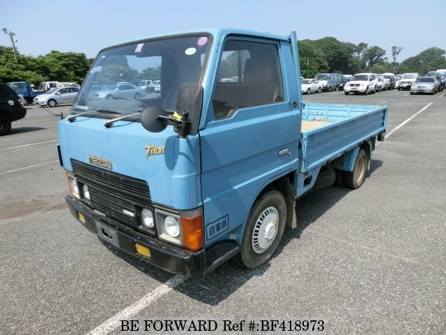 Used 1981 MAZDA TITAN CAB OVER/K-WEW051 for Sale BF418973 - BE FORWARD
