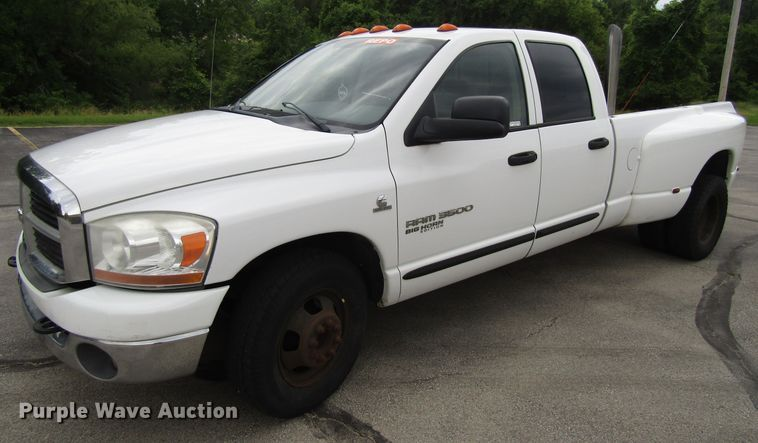 2006 Dodge Ram 3500 Big Horn Edition Quad Cab pickup truck in ...