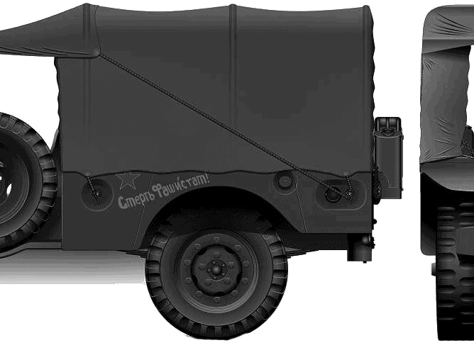 Dodge Wc 51 Weapon Carrier #0710