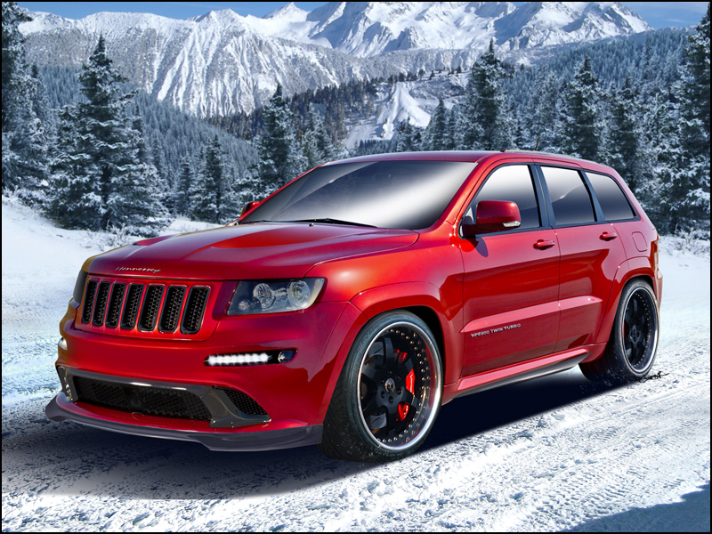 Hennessey Jeep Grand Cherokee SRT-8 is a Supercar Slaying Sleigh