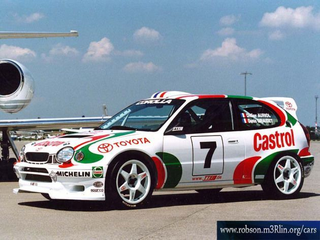 Toyota Corolla WRC (With images) | Rally car, Toyota corolla, Toyota
