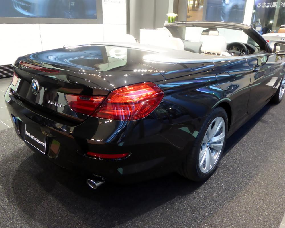 File:BMW 640i Cabriolet (F12) rear.JPG - Wikimedia Commons