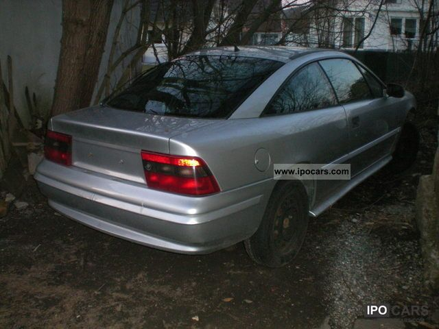 1993 Opel Calibra Turbo 4x4 16V - Car Photo and Specs
