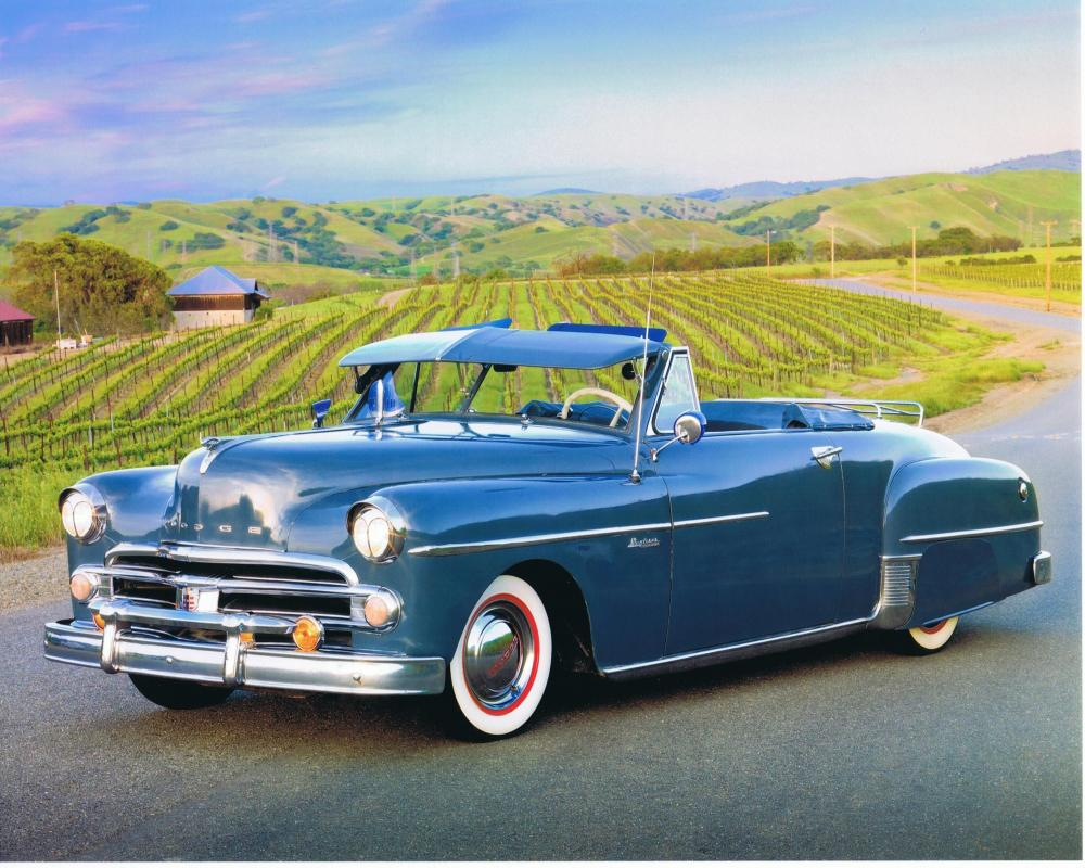 1950 Dodge Wayfarer Sportabout convertible with extras....very ...