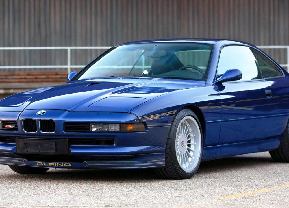 1993 BMW Alpina B12 5.7 Coupé the top version BMW 850 CSi e31 ...