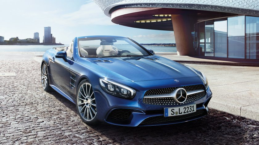 Mercedes-Benz SL Roadster: Highlights