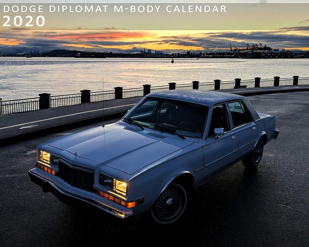 Amazon.com : Dodge Diplomat M-Body Calendar 2020 : Office Products