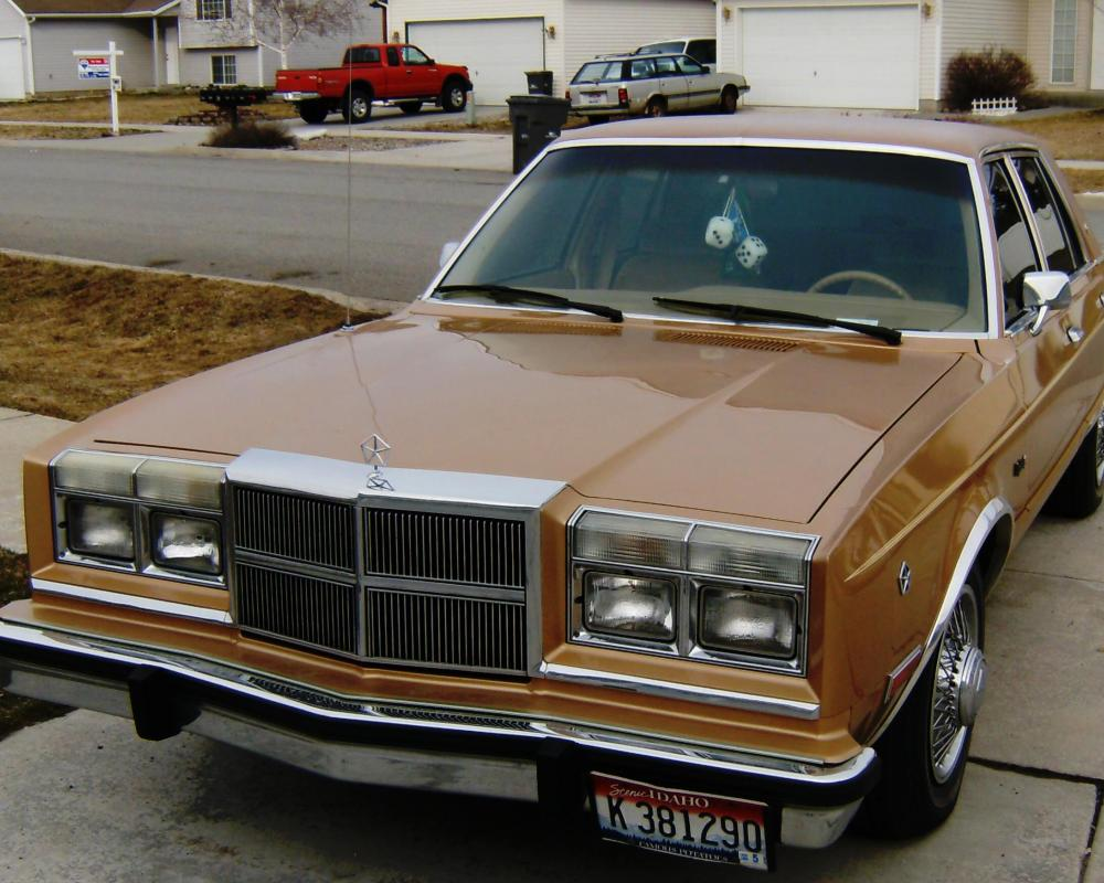 twsixstring 1987 Dodge Diplomat Specs, Photos, Modification Info ...