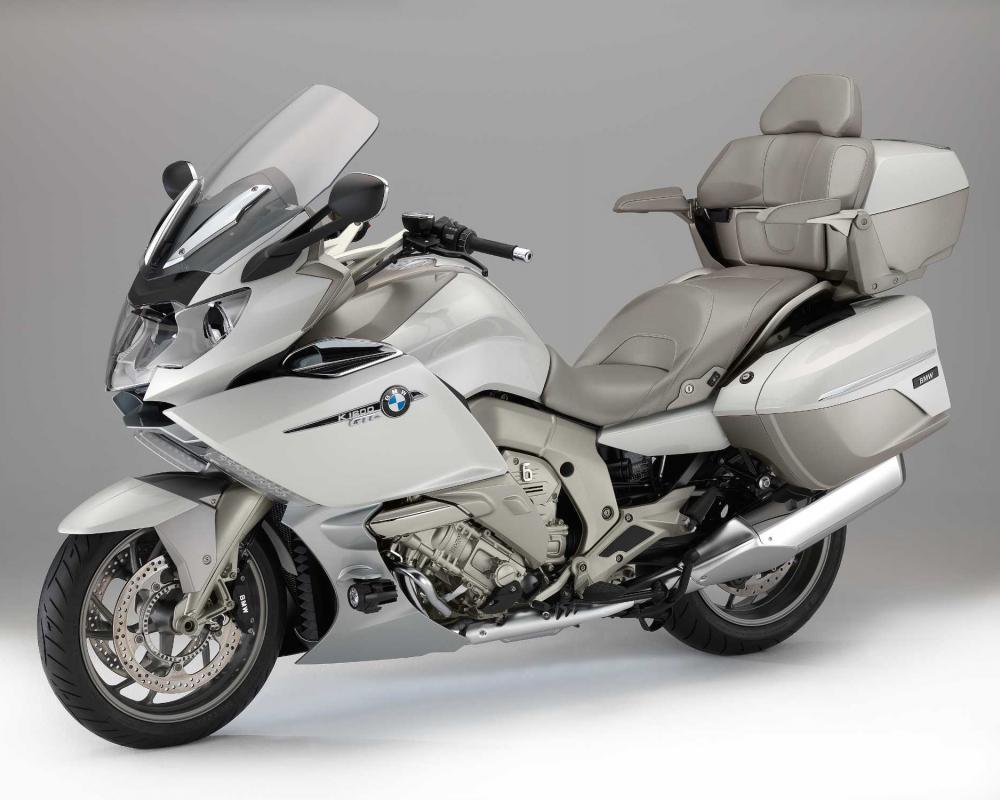 The new BMW K 1600 GTL Exclusive.