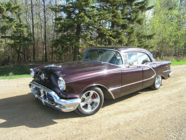 1956 Oldsmobile 98 4Dr. Holiday Hardtop | Classic Cars | Red Deer ...