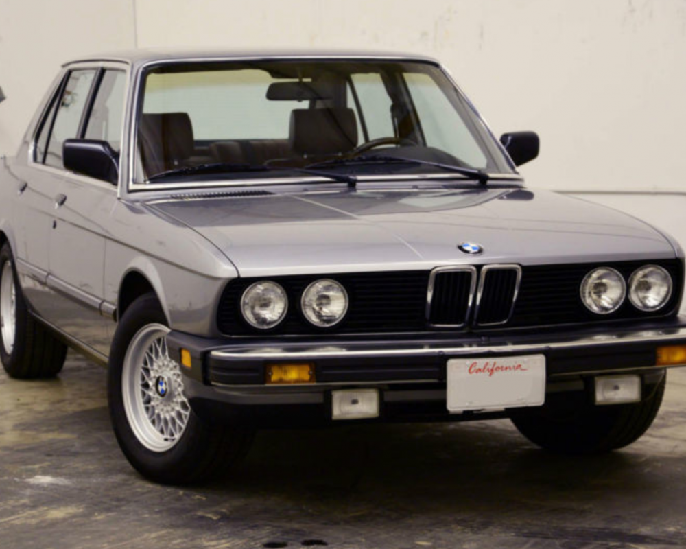 1988 BMW 528e – German Cars For Sale Blog