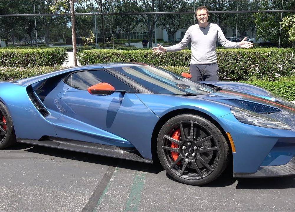 The 2019 Ford GT Is America's Insane $1 Million Supercar - YouTube