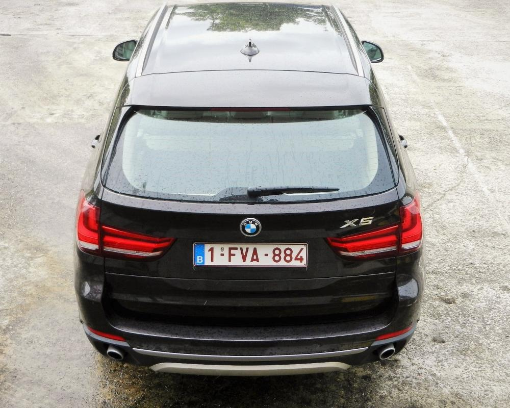 Wegtest BMW X5 30d | Auto55.be | Tests