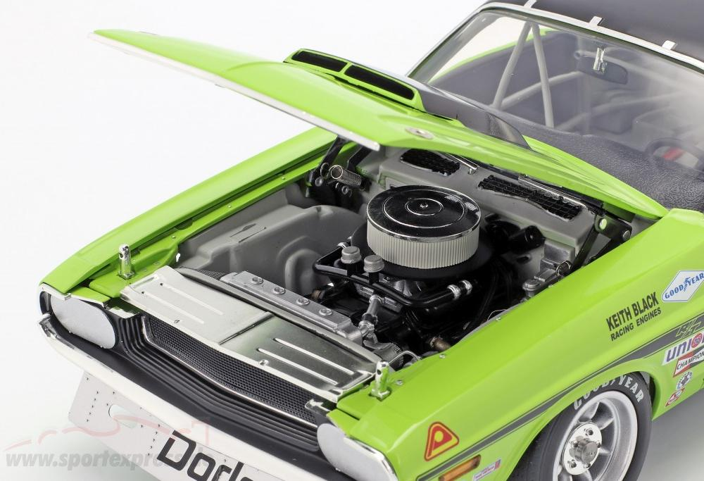Dodge Challenger Trans Am #76 year 1970 Sam Posey green / black ...