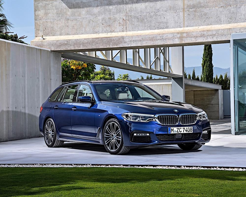 BMW 5 Series Touring (G31) Spezifikationen & Fotos - 2017, 2018 ...