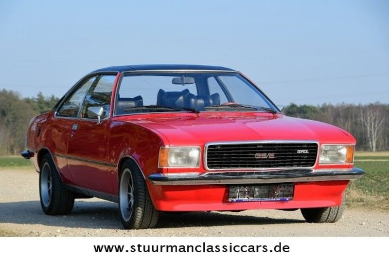 1973 Opel Commodore GS/E Coupé is listed For sale on ClassicDigest ...
