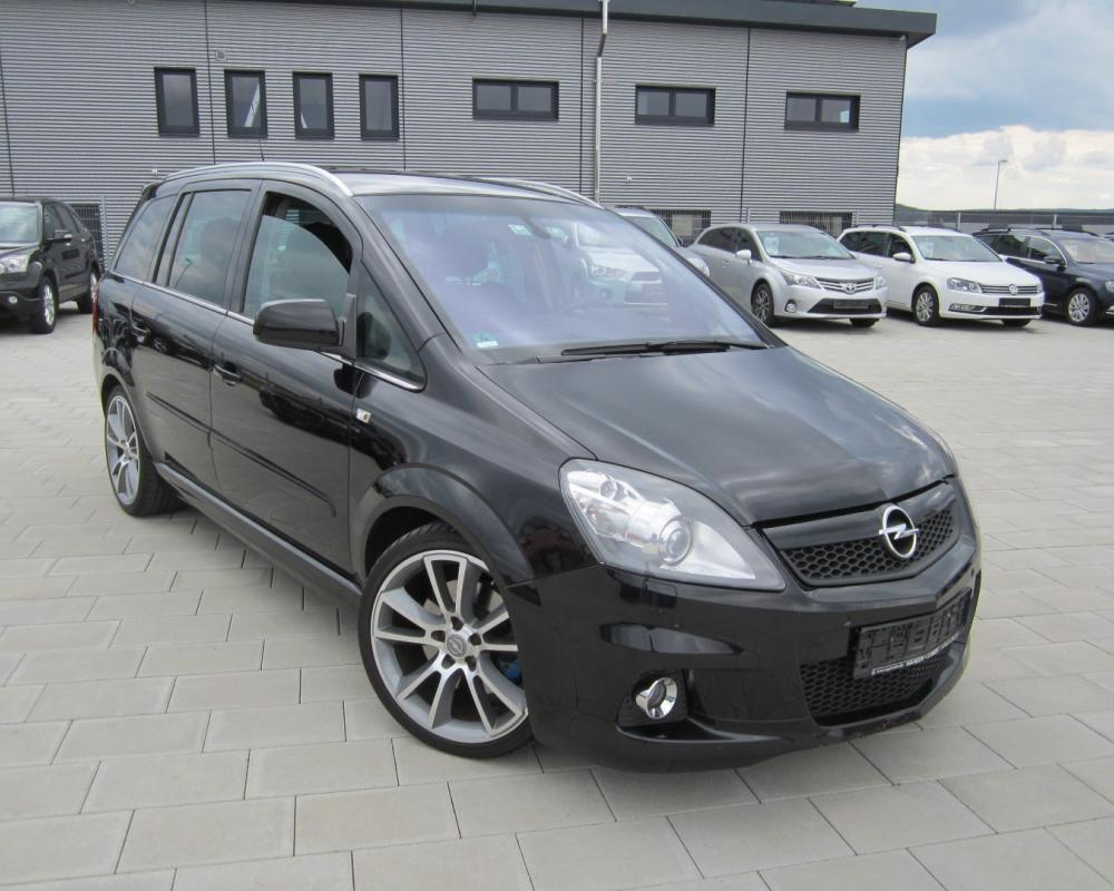 Opel Zafira OPC used buy in Zimmern ob Rottweil Price 9450 eur ...
