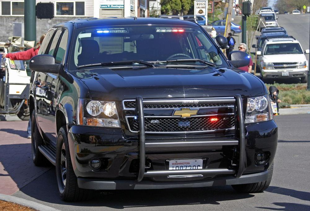 Snohomish Police Department Unmarked Chevrolet Tahoe PPV During ...