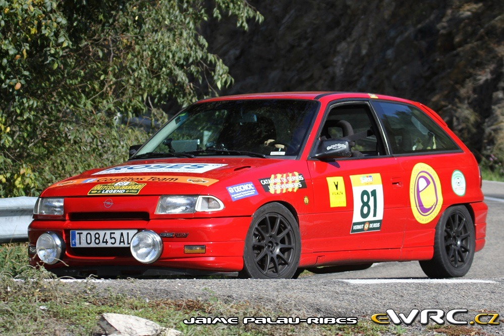 − Opel Astra GSi 16V − Rally Costa Daurada Legend 2016