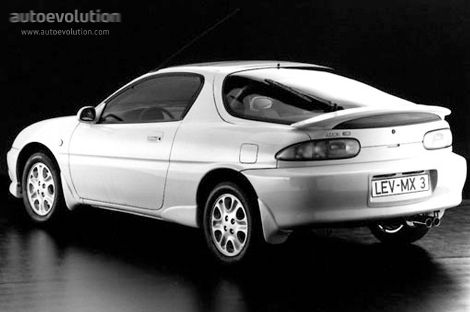 MAZDA MX-3 specs & photos - 1991, 1992, 1993, 1994, 1995, 1996 ...