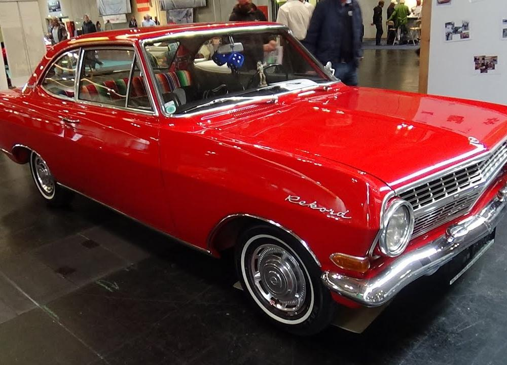 1964 - Opel Rekord A Coupe - Classic Expo Salzburg 2015 - YouTube