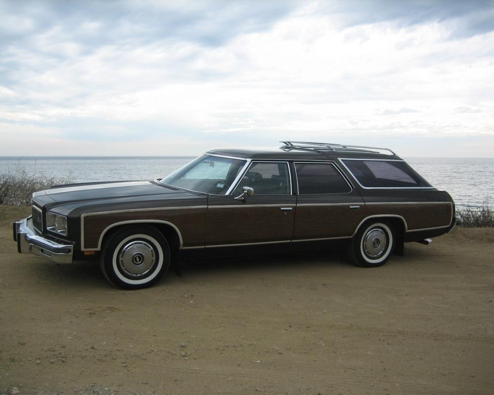 1975 Caprice Estate Wagon- bought it on Guam and traveled coast to ...
