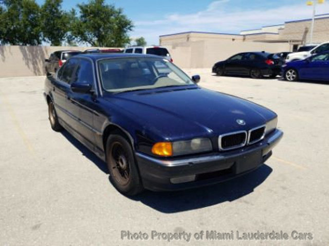 1998 Used BMW 7 Series 740IA SWB at Miami Lauderdale Cars Serving ...