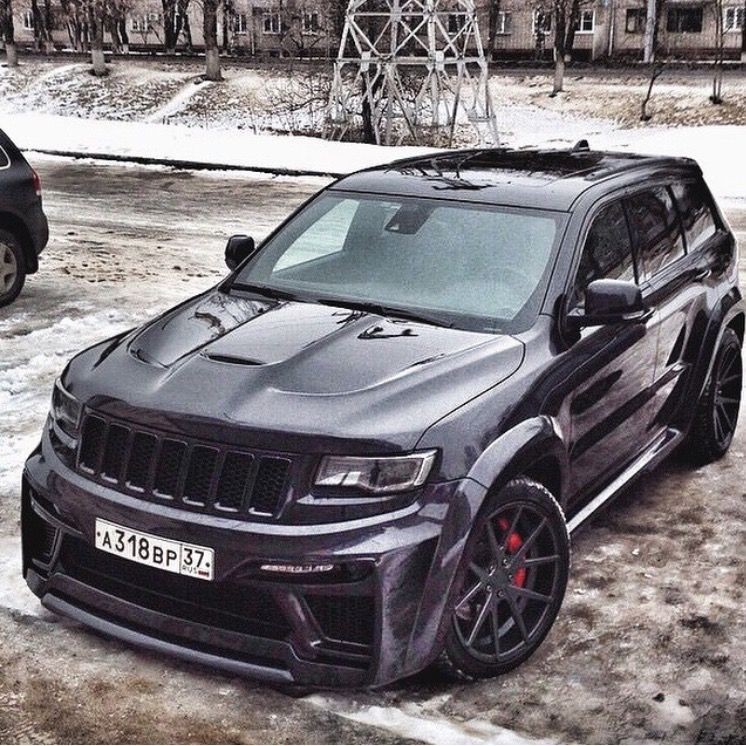 JEEP Grand Cherokee SRT-8 … (With images) | Jeep grand cherokee ...