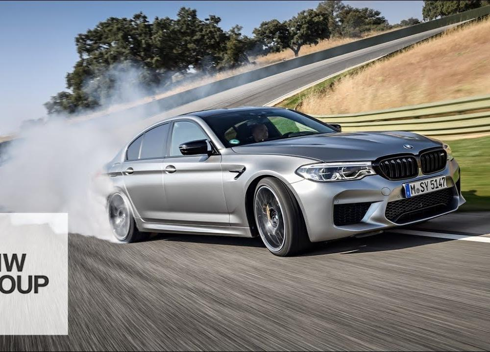 The new BMW M5 Competition - YouTube