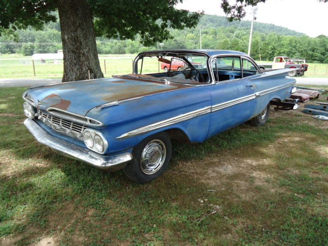 1959 Chevrolet Impala 2Dr.HT Ark.car nice builder V8Auto lots of ...