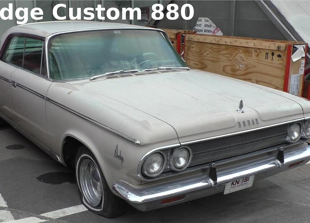 1962 Dodge Custom 880 - original classic car - Oldtimer im ...