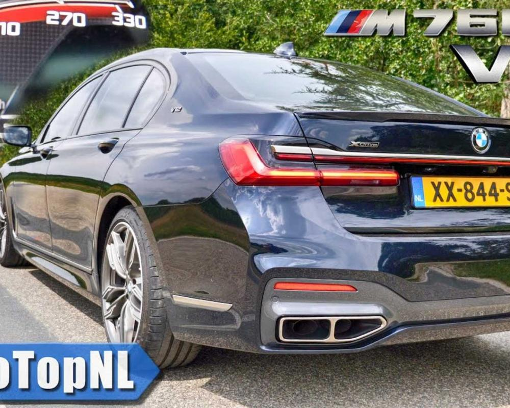 2020 BMW M760Li Acceleration Test Shows An M7 Is Unnecessary