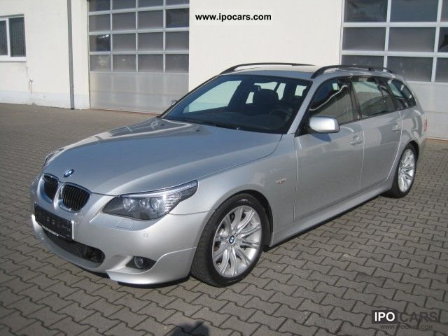 2008 BMW 535d Touring M-Sport Leather Package Panoramic - Car ...