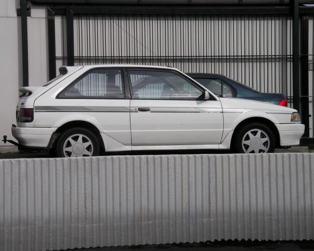 Mazda 323 4WD Turbo – New Zealand