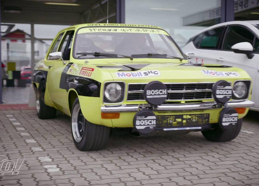 Restauration einer Rallye-Legende | Opel Ascona A - YouTube