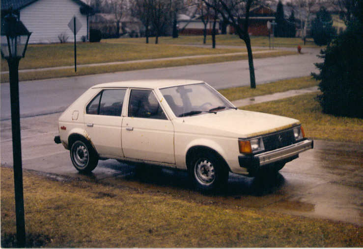 1982 Dodge Omni - Front passenger side | My first car!!! I l… | Flickr