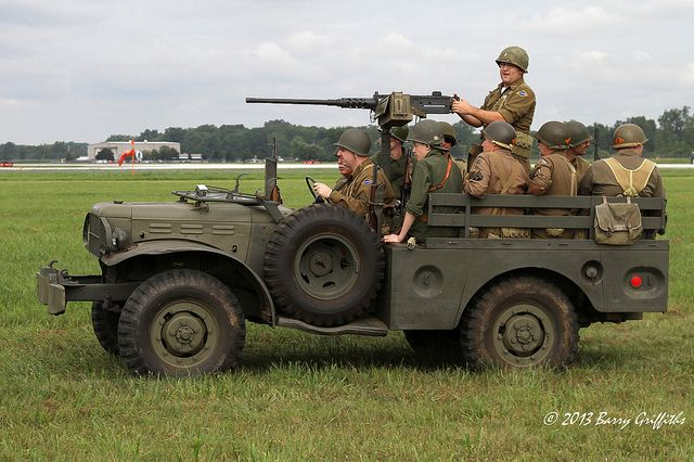 Dodge WC-51 3/4 ton 4x4 (G502) light truck | Army truck, Military ...