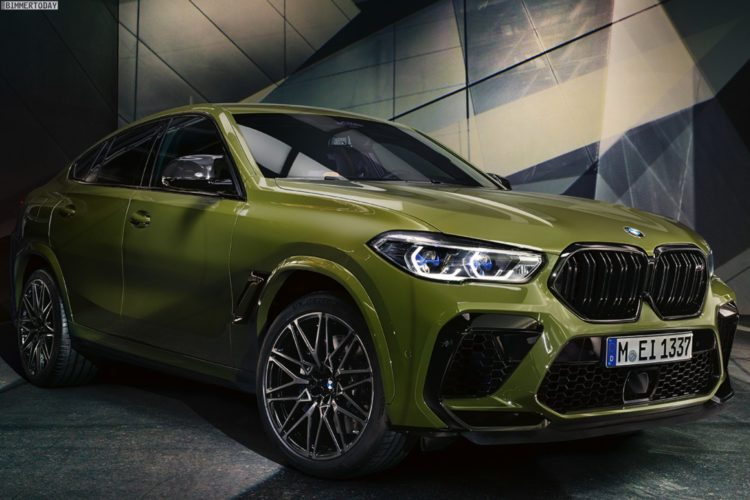 Maximal extrovertiert: BMW X6 M Competition in Urban Green