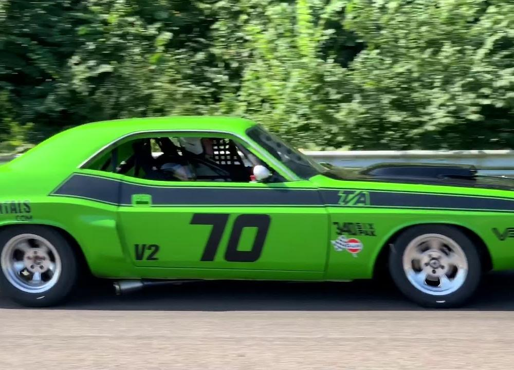 12055 - Dodge Challenger Trans Am Historic Racing — 1970 - YouTube