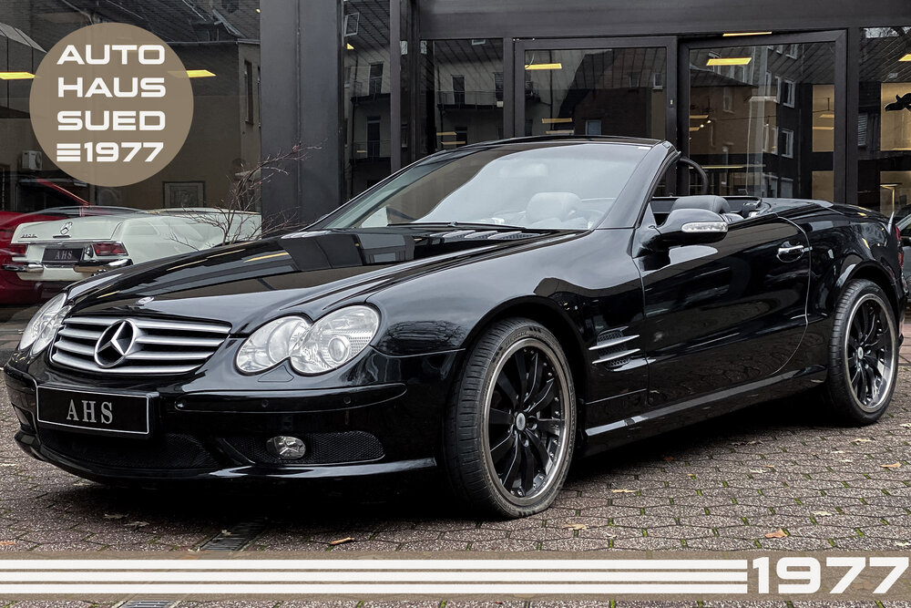 Mercedes-Benz SL 55 AMG Kompressor — Premium Automobile