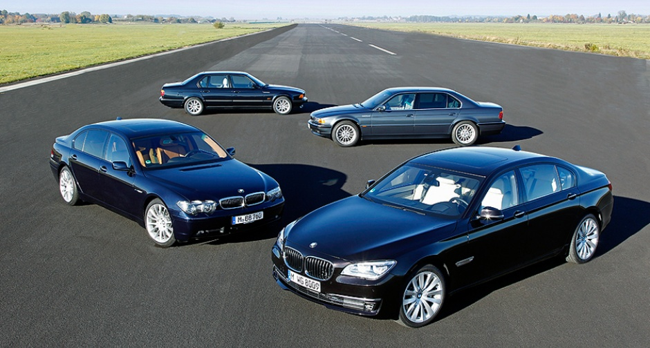 BMW 7 Series V12 Generations: Silver Jubilee for the King ...