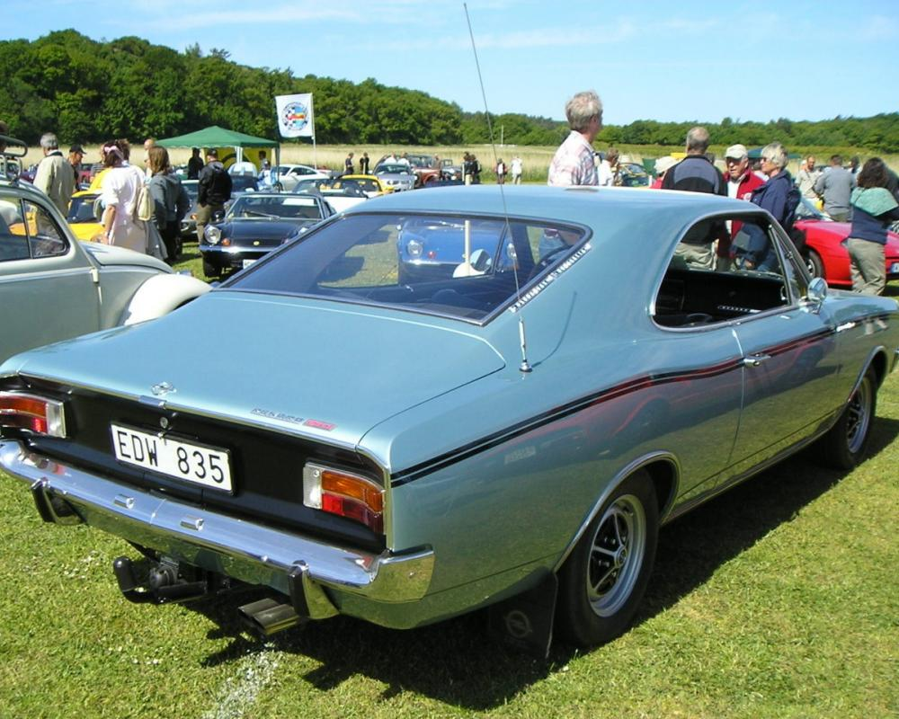 Opel Rekord Sprint coupe – Sweden