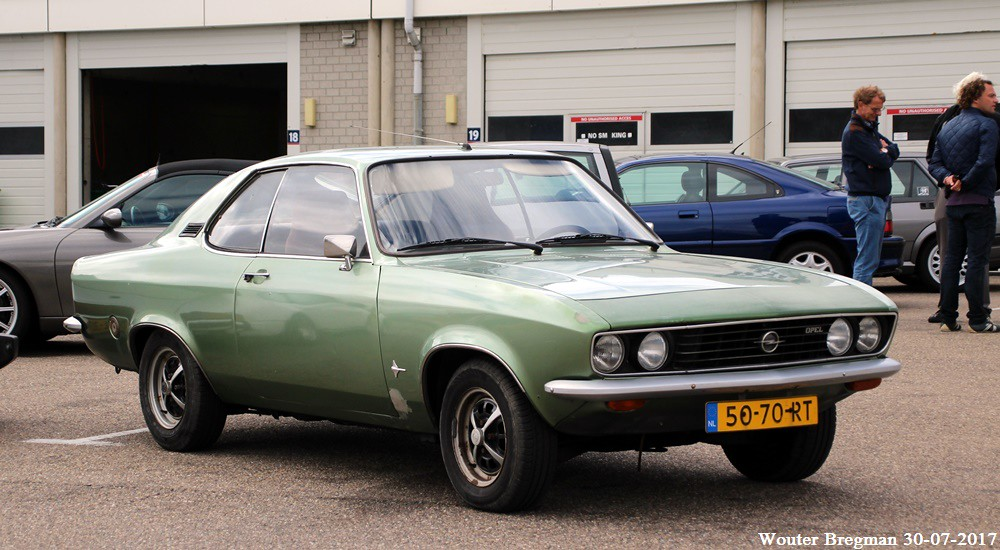 Opel Manta automatic 1971 | Nationaal Oldtimer Festival 2017… | Flickr