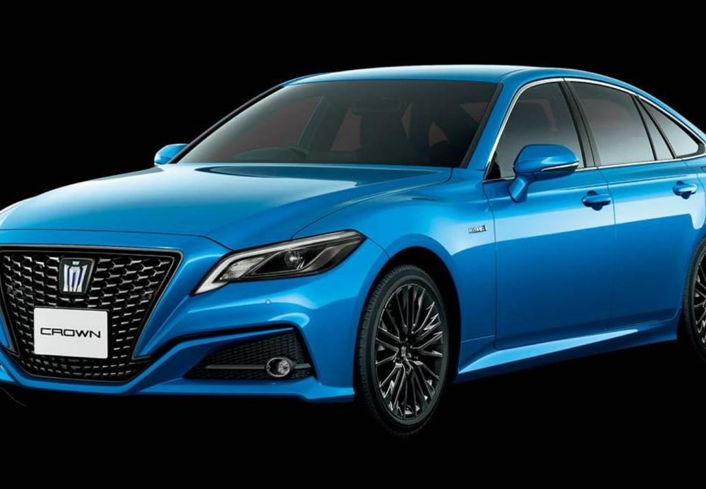"JDM Gem: Toyota Gives Crown Luxury Sedan A Mature ""Sport Style ..."
